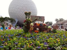 """""""Fresh Epcot"""" is the Theme for the 2016 Epcot Flower and Garden Festival - Take the Full Photo Tour!"""