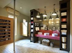 contemporary bathroom by Gristmill Builders, LTD