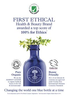 Award winning health and beauty products from Neals Yard Remedies. #nealsyard #ethicalskincare #safecosmetics