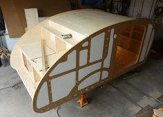 View topic - Building The Atma Travelear Teardrop Diy Teardrop Trailer, Building A Teardrop Trailer, Teardrop Camper Plans, Teardrop Caravan, Airstream Caravans, Camper Trailers, Travel Trailers, Rv Campers, Mini Caravan