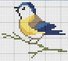 Thrilling Designing Your Own Cross Stitch Embroidery Patterns Ideas. Exhilarating Designing Your Own Cross Stitch Embroidery Patterns Ideas. Mini Cross Stitch, Cross Stitch Cards, Cross Stitch Animals, Cross Stitching, Cross Stitch Embroidery, Hand Embroidery, Bird Patterns, Beading Patterns, Embroidery Patterns