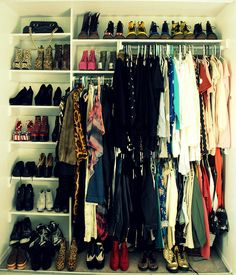I want my closet to be this organized.