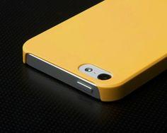 Yellow iPhone 5 Case By AViiQ – $19