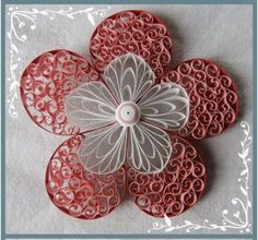 Beautiful quilling.