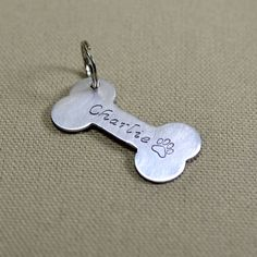 charlie dog tag by daisyhardcastle | notonthehighstreet.com