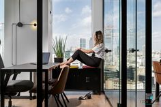 Planning and Designing Offices In Company - Entrepreneurship and Real Estate Improvement Electra City Towers Tel Aviv Tel Aviv, Towers, Entrepreneurship, Offices, Real Estate, How To Plan, City, Design, Tours