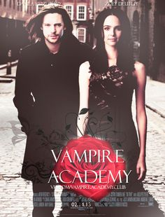 Vampire Academy Movie Poster Fan Made