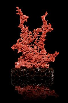 A Carved Coral Floral Composition | Asian Works of Art | March 23-24 | Chicago