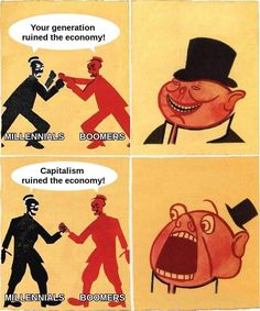 Capitalism Ruined the Economy | Porky | Know Your Meme