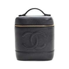 CHANEL Vanity  Small bags Black Leather A01998