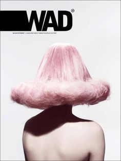 WAD (France) Magazine | Magazine Cover: Graphic Design, Typography, Photography |