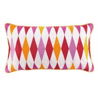 Franca Embroidered Pillow Pink - 24JP49AC26OB