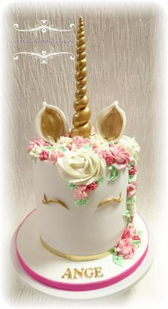 Unicorn for Ange by AWG Hobby Cakes