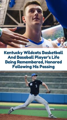 """Kentucky Wildcats Mourning Loss Of 2-Sport Student Athlete """"Ben impacted our team last season in so many ways with his kind heart...big smile and...wonderful personality,"""" John Calipari, Kentucky basketball coach, said. #sportsnews #baseball #tragedy"""