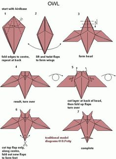 5 Best Images Of Origami Owl Diagram Origami Owl - Real Time - Diet, Exercise, Fitness, Finance You for Healthy articles ideas Origami Rose, Dragon Origami, Origami Owl Easy, Chat Origami, Instruções Origami, Money Origami, Origami Butterfly, Paper Crafts Origami, Useful Origami