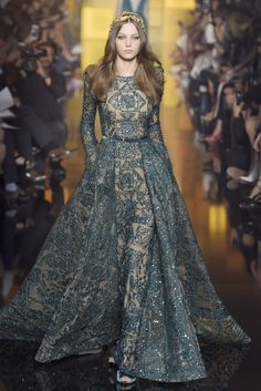 Elie Saab Fall 2015 Couture #PFW