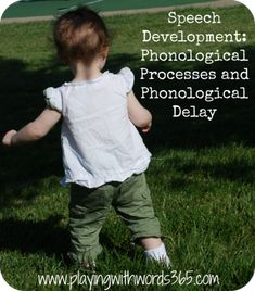 Phonological processes are a normal part of speech development in young children, but sometimes they can be used too long, resulting in a speech delay. This post designed for parents, educators, and SLPs will give you a better understanding of phonological development.