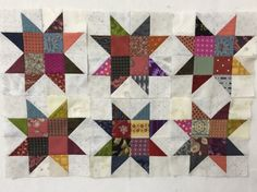 Twinkle Star キラキラ星 A technique for patchwork!!Do not miss!! http://felisaquilts.com/?p=3627