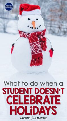 Do you have a student who doesn't celebrate Christmas or holidays? These teaching ideas, non-holiday activities, and classroom management tips will help you accommodate students who don't celebrate holidays or birthdays while giving them an alternative to holiday activities. #classroommanagement #elementaryteachers #primaryteachers Creative Teaching, Creative Activities, Christmas Activities, Christmas Themes, Teaching Tips, Library Activities, Classroom Activities, Classroom Ideas, First Year Teachers