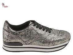 B7472 sneaker donna HOGAN REBEL R182 scarpa blu shoes woman [36.5] in  OFFERTA su www.kellieshop.com Scarpe, borse, accessori, intimo, gioielli e  mo…