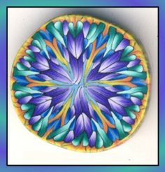Polymer Clay Projects -- Excellent tutorial for kaleido canes.