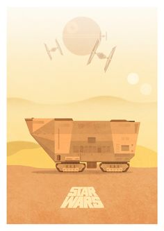 Star Wars Trilogy Poster Set - Created by George Townley