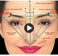 "Aline Simões on Instagram: ""Each eyebrow is unique there is no default, we use is facial mapping according to each face. .If the watch's it choose ... "" Makeup Tips Eyeshadow, Eyebrow Makeup Tips, Eyebrow Tinting, Eye Makeup Steps, Contour Makeup, Tutorial Eyebrow, Mircoblading Eyebrows, Sparse Eyebrows, Eyebrow Design"