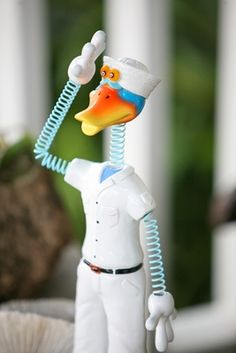 Navy GeekyBeek Military Statue only $26.99 at Garden Fun - Whats New!