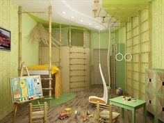 Hervorragend Kinderzimmer  Komplett Set Wunderschöne Grüne Farbe   Viele Sachen Zum  Spielen