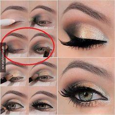 DIY: Elegantes Augen Make-up <3