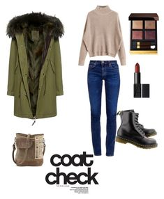 """""""Untitled #9"""" by raqui7chic1 ❤ liked on Polyvore featuring Mr & Mrs Italy, AG Adriano Goldschmied, Dr. Martens, Tom Ford and statementcoats"""