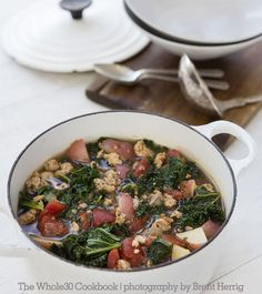 Whole30 To try (Natalia): Sausage, Kale and Potato Soup