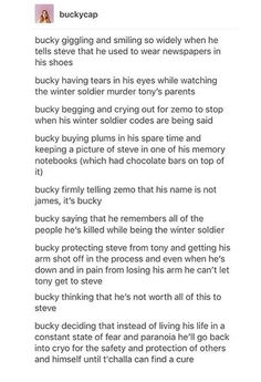 Things about Bucky that gave me feels in CW. || Just Bucky