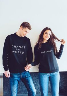 Matching gift/ best friend gift/ gift for friend/ best friend sweater/ hoodies/ matching gifts for boyfriend and girlfriend/ pärchen jumpers - Bestfriend Shirts - Ideas of Bestfriend Shirts - Matching gift/ best friend gift/ gift for friend/ best friend Mother Daughter Matching Outfits, Matching Couple Outfits, Matching Gifts, Matching Hoodies For Couples, Matching Sweaters, Cute Jumpers, Best Friend Shirts, Cute Couples Goals, Outfit Goals