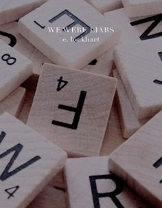 book covers ▷ we were liars by e. We Were Liars, Tulips, Place Cards, Place Card Holders, Tulip