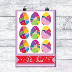 Cherry & Cherry PRINTS - Paște Fericit! Cod produs: D-102 Disponibil în...