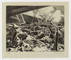 Paul Nash - Void 1918