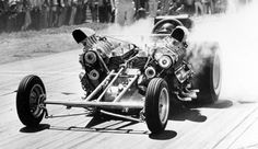 Double Engine Dragsters | Eddie Hill twin engine dragster