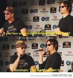 If you were looking for another reason to LOVE Norman Reedus....