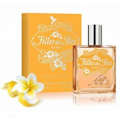 Filles des Iles Amber Chic 50ml / 1.69 Fl. Oz. EDT Amber Chic is a gourmand amber fragrance created by perfumer Delphine Lebeau A modern amber scent, with a precious wood, creamy vanilla and oriental powder accent. A praline touch together with a freshness zest of bergamot, give to this fragrance an unique sweet delight. Shop now in www.cosmetophoria.com