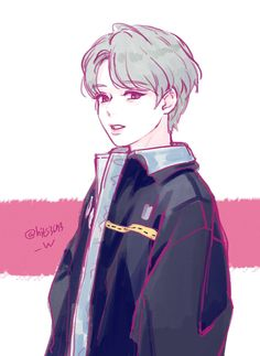 박지훈 Cute Anime Guys, Cute Anime Couples, Anime Korea, Korean Art, Handsome Anime, Manga Boy, Kpop Fanart, Drawing Poses, Boy Art