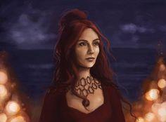Melisandre by ImperfectSoul  http://imperfectsoul.deviantart.com/art/Melisandre-361380900
