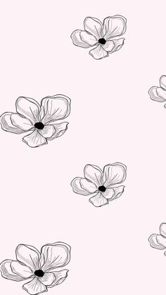 Floral Pattern Design wi - Blooming Garden Floral Patterns a set of Seamless Vector Patterns, Flower Illustrations and Vector - Owsla Wallpaper, Watch Wallpaper, Iphone Background Wallpaper, Aesthetic Iphone Wallpaper, Pattern Wallpaper, Aesthetic Wallpapers, Kate Spade Wallpaper, Simple Wallpapers, Pretty Wallpapers