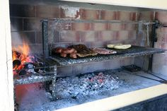 """9 Ways How To Grill Like An Argentinian 9 Ways How To Grill Like An Argentinian<br> On our quest for authentic food in Argentina, we learned about Argentinian grilling. Here are 9 ways to master the """"asado"""" and barbecue like an Argentinian. Build Outdoor Kitchen, Outdoor Cooking, Argentina Grill, Argentinian Bbq, Tinkerbell, Asado Grill, Outdoor Barbeque, Bbq Kitchen, Camping Kitchen"""