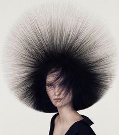 "POP MY EYES, ""Static"", (I didn't want to go out, but my hair looked too good to stay home!), creative by Angelo Seminara, pinned by Ton van der Veer"