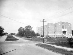 Old Armory in 1935 (the year it was constructed), Tallahassee, Florida