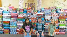 Athens Christian students participate in shoebox project