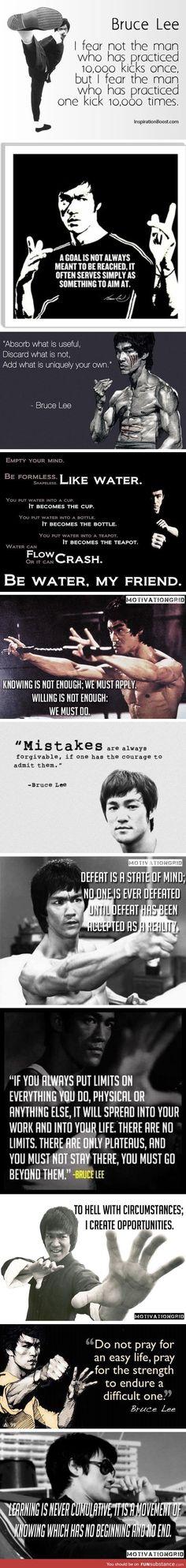 Bruce lee wisdom