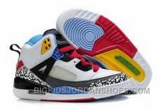 Kids Air Jordan Spizike White Grey Blue Red, cheap Jordan Kids, If you want to look Kids Air Jordan Spizike White Grey Blue Red, you can view the Jordan Kids categories, there have many styles Jordan Shoes For Kids, Jordan Shoes Online, Michael Jordan Shoes, Air Jordan Shoes, Kids Jordans, Cheap Jordans, New Jordans Shoes, Jordans Sneakers, Shoes Sneakers