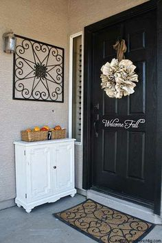 pinterest decorating ideas | 90 Fall Porch Decorating Ideas | Shelterness